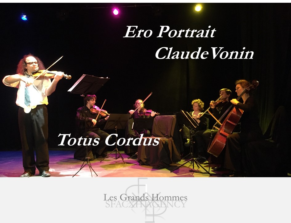 Ero-portrait Claude Vonin alias Totus Cordus